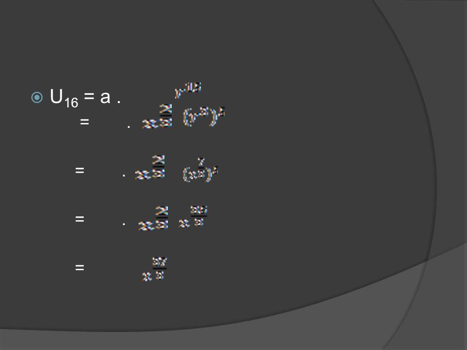 4.Tentukan nilai rasio dari barisan geometri yang terbentuk pada : a.