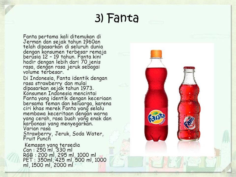 4) Frestea Frestea diluncurkan pertama kali pada tahun 2002 dan merupakan bagian dari Beverage Partners Worldwide (BWP), yaitu perusahaan patungan hasil kemitraan yang sukses antara The Coca-Cola Company dengan Nestle, SA.