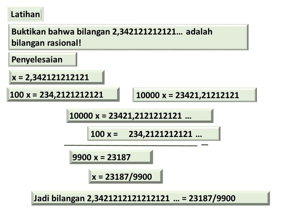 1.3.7 PERTIDAKSAMAAN KUADRAT Bentuk umum a 2 x + bx + c (?) 0 a, b, dan c adalah bilangan-bilangan ril a  0 (?) adalah salah satu , , , atau  Contoh 1.15 Selesaikan pertidaksamaan x 2 – 7x + 12 > 0 Penyelesaian