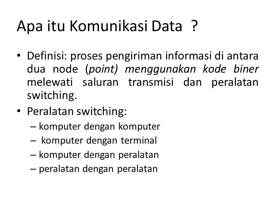 Apa itu Komunikasi Data .