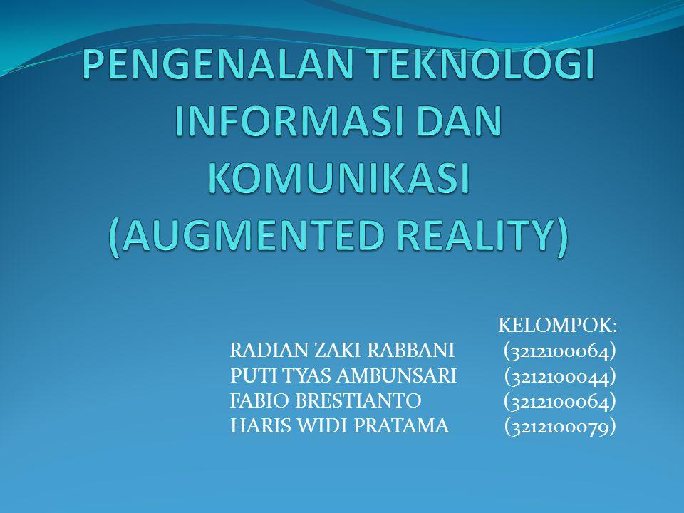 Apakah Augmented Reality itu.