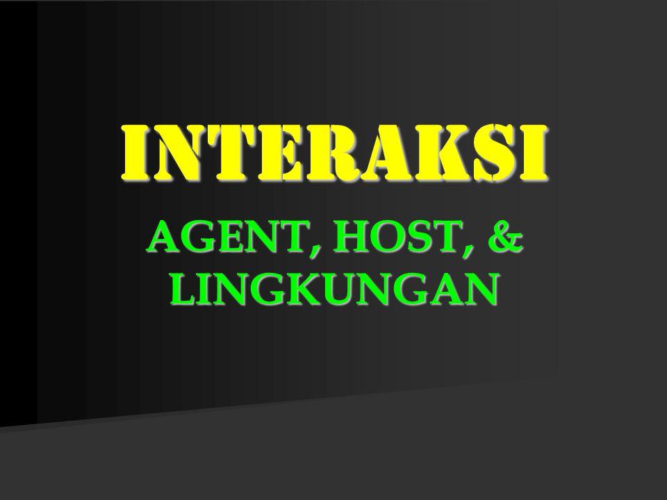 AGENT, HOST, & LINGKUNGAN INTERAKSI