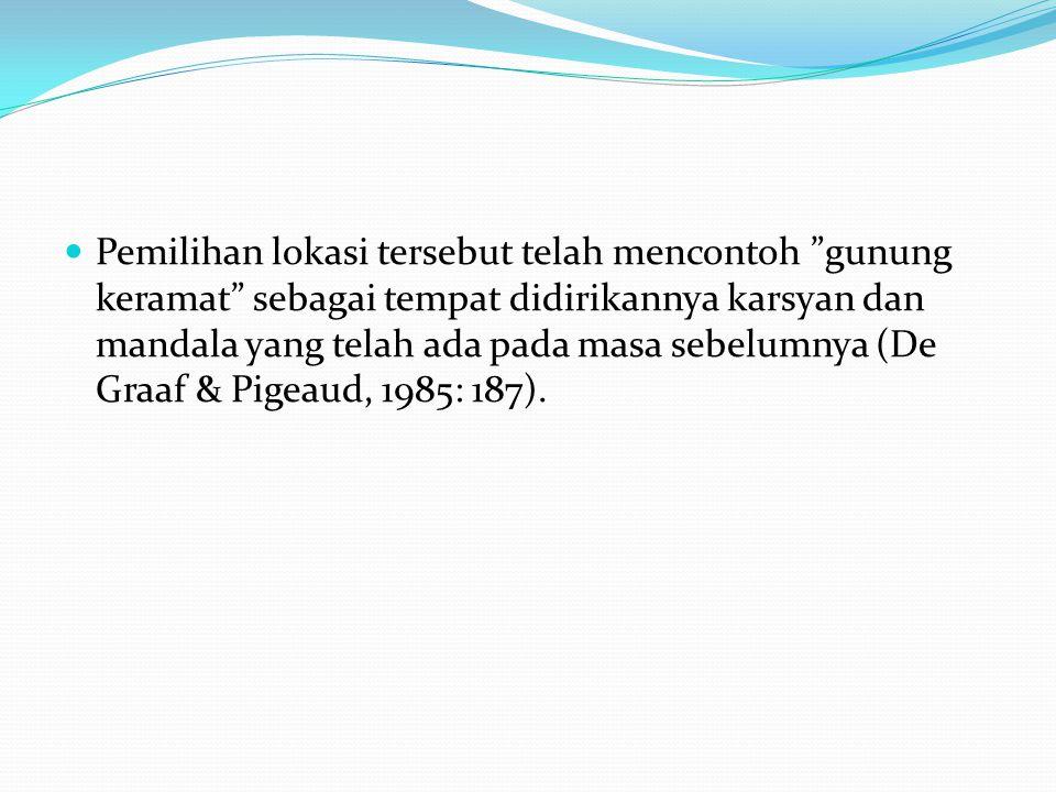 Seperti halnya mandala, pada masa Islam istilah tersebut lebih dikenal dengan sebutan depok , istilah tersebut menjadi nama sebuah kawasan yang khas di kota-kota Islam, seperti Yogyakarta, Cirebon dan Banten