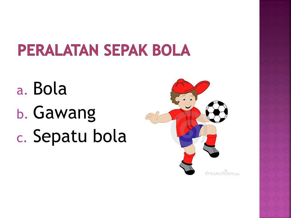  Sepak Bola adalah Permainan bola besar yang dilakukan oleh dua team yang masing-masing team terdiri dari sebelas orang atau sering disebut kesebelas