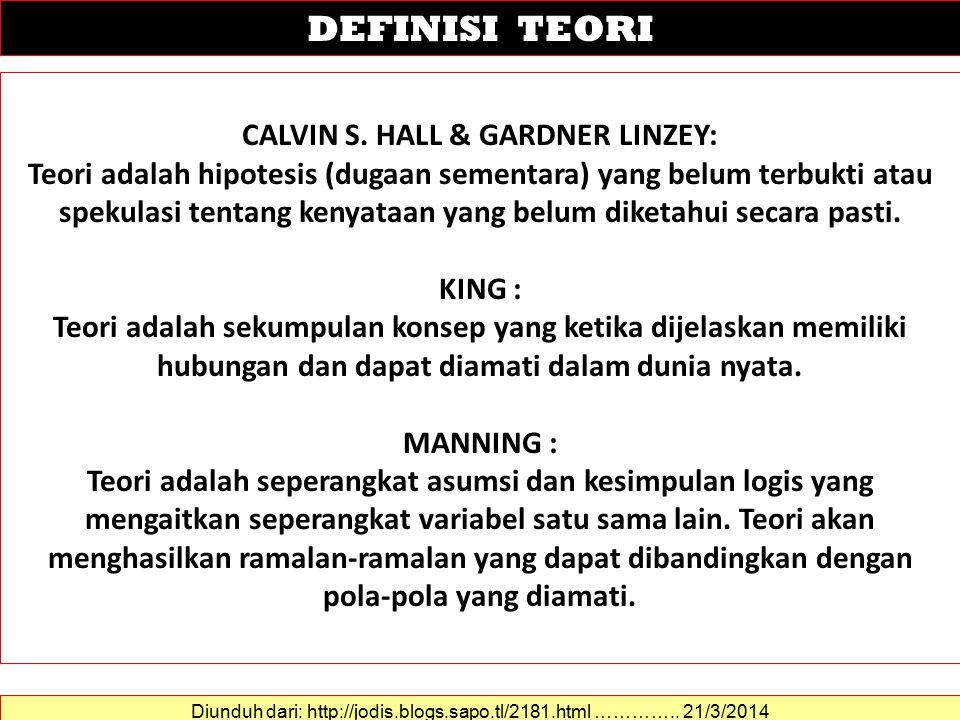 CALVIN S.