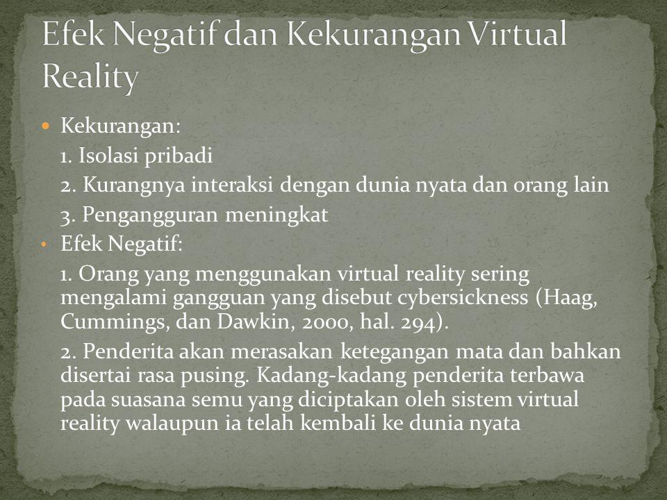 http://muhamadiqbalmansulrudin.blogspot.com http://arifimoed.blogspot.com http://augmentedrealityindonesia.com http://fahrudipti.blogspot.com http://en.wikipedia.org/wiki/Virtual_reality