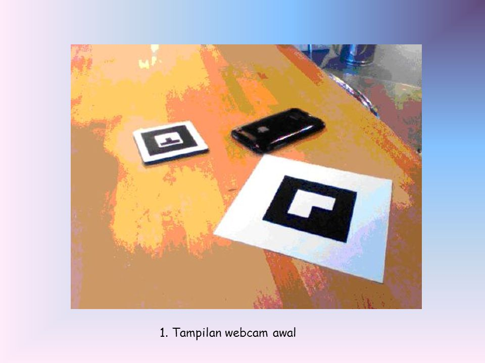 1. Tampilan webcam awal