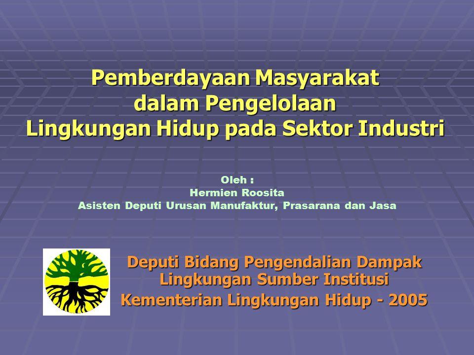 WSSD -Pengentasan kemiskinan -Merubah pola Produksi dan Konsumsi yang tidak berkelanjutan KESEPAKATAN NASIONAL -Good Gov & Masy.