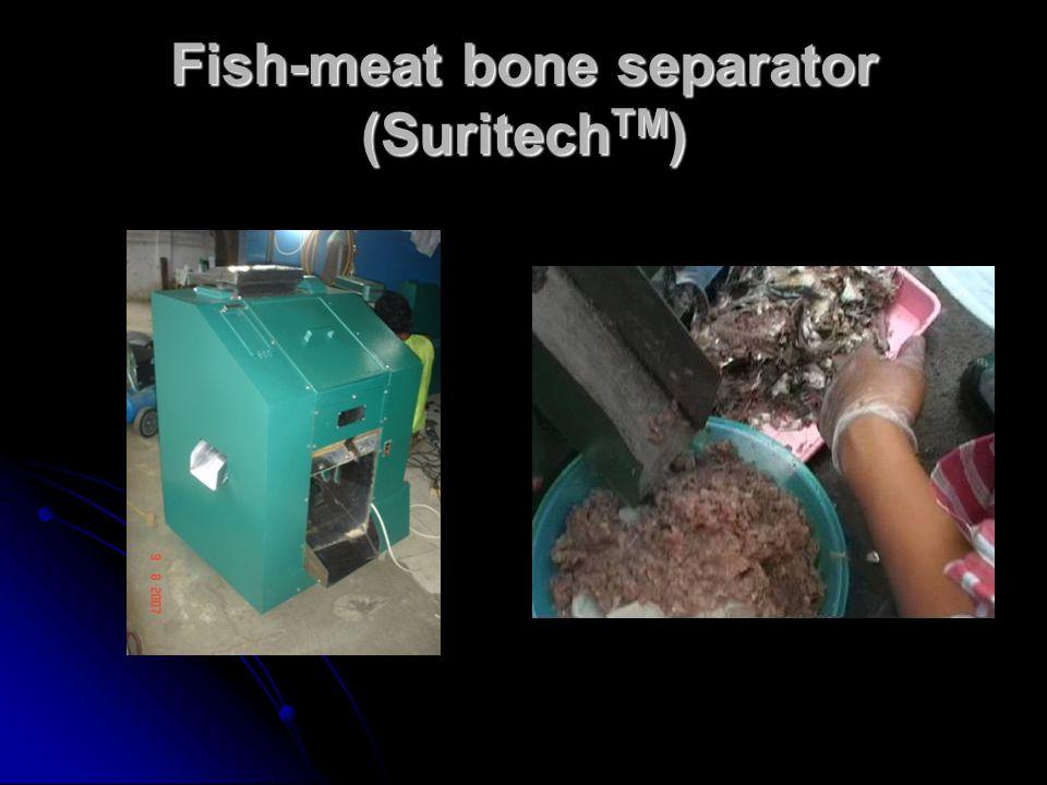 Fish-meat bone separator (Suritech TM )