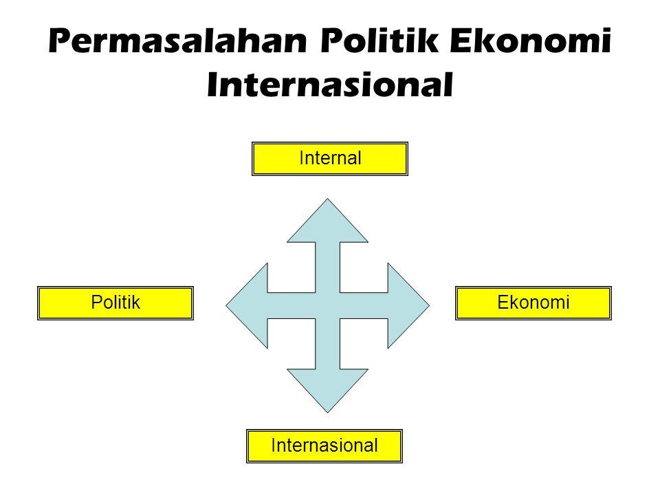 Permasalahan Politik Ekonomi Internasional Internal Internasional EkonomiPolitik