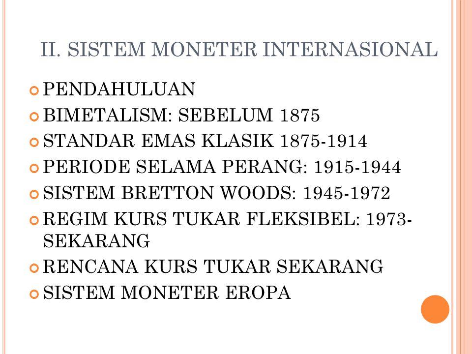 M ATERI 4 – SISTEM MONETER INTERNASIONAL (B USINESS I NTERNATIONAL ) ANDRI HELMI M, SE., MM.