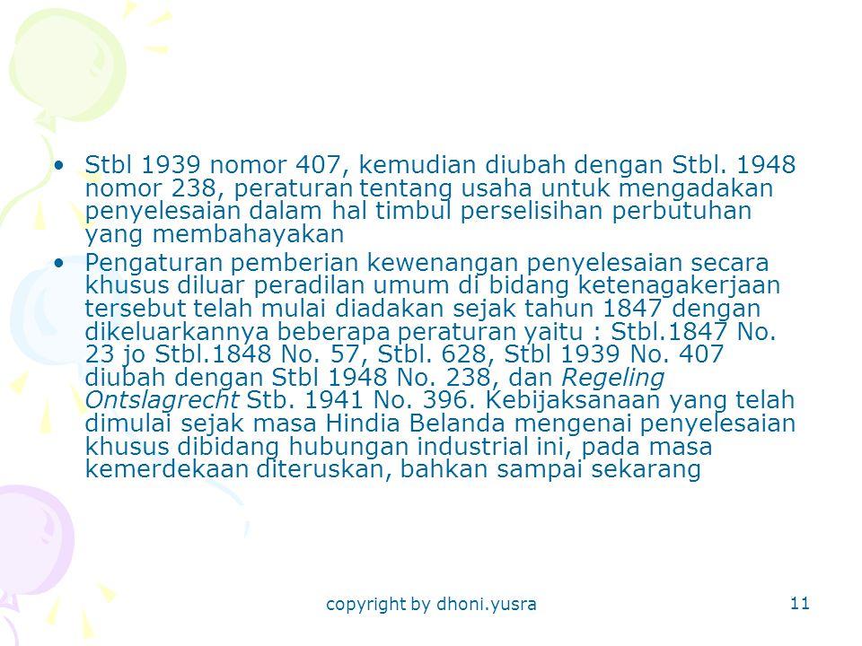 copyright by dhoni.yusra 11 Stbl 1939 nomor 407, kemudian diubah dengan Stbl.