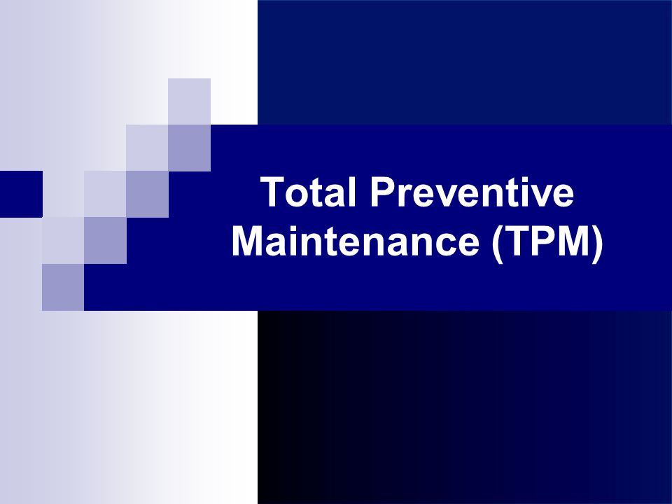 Latihan:TPM