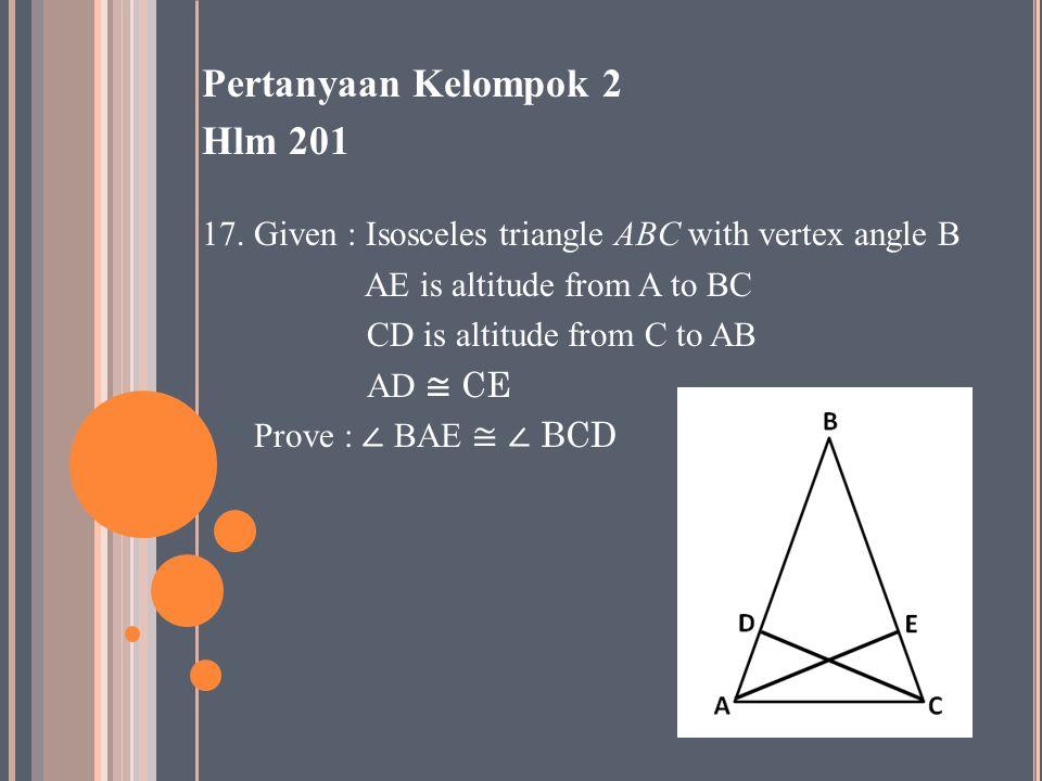 Pertanyaan Kelompok 2 Hlm 201 17.