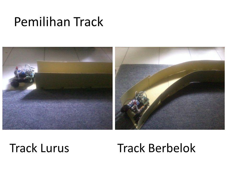 Pemilihan Track Track LurusTrack Berbelok