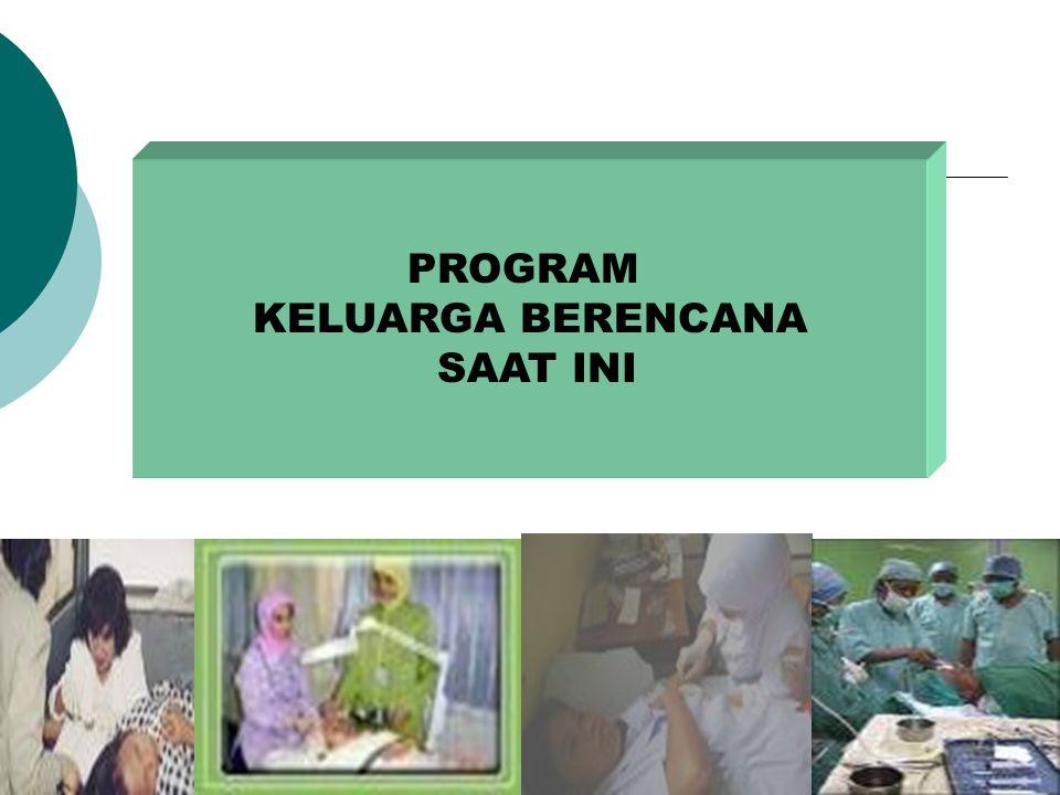 11 Hasil Kebijakan Kependudukan dan Kesehatan di Indonesia Proyeksi Widjojo tanpa penurunan fertilitas, estimasi jumlah penduduk 2000 mencapai 350 jt.
