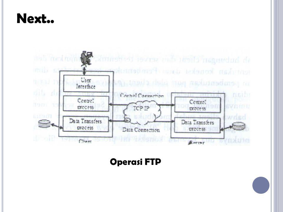Salah satu dari keseluruhan layanan jaringan adalah electronic mail (e-mail).