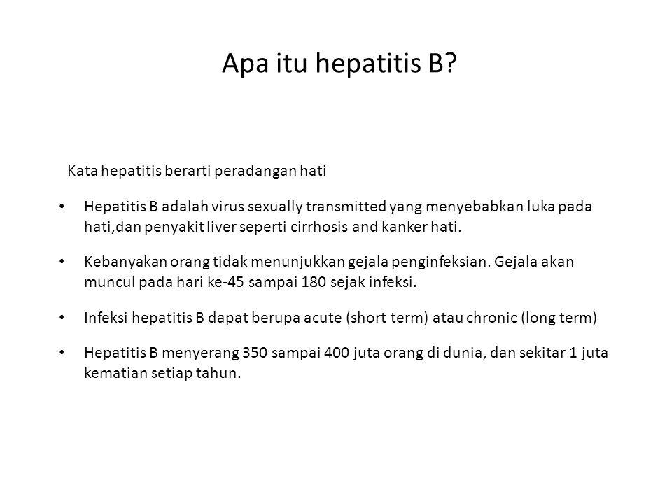 Apa itu hepatitis B.
