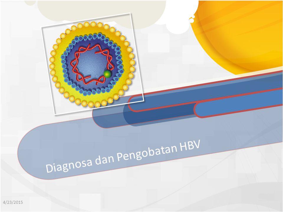 Diagnosa dan Pengobatan HBV 4/23/2015