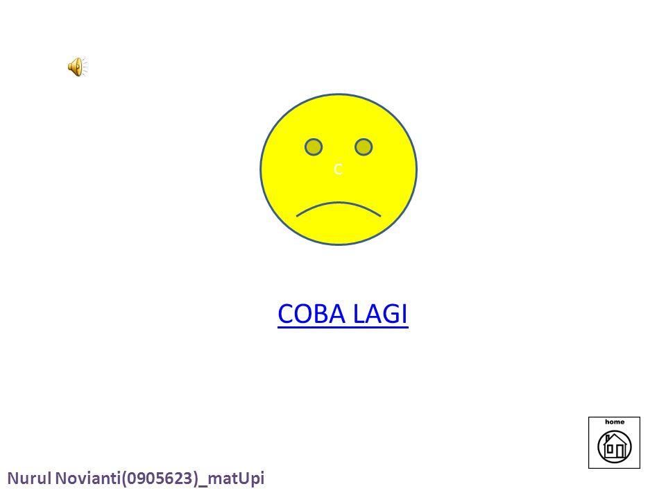 C COBA LAGI Nurul Novianti(0905623)_matUpi