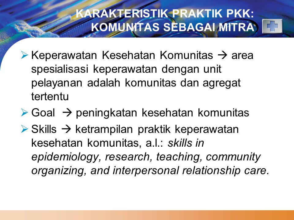 www.themegallery.com STANDAR KOMPETENSI PERAWAT GENERALIS Ranah/domain kompetensi mencakup: 1.