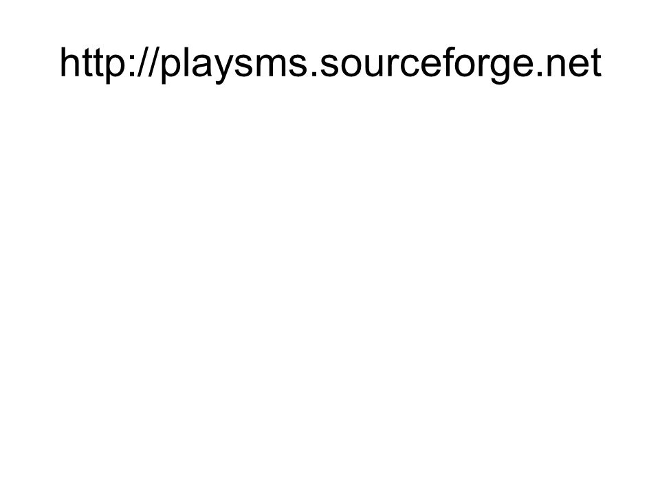 http://playsms.sourceforge.net