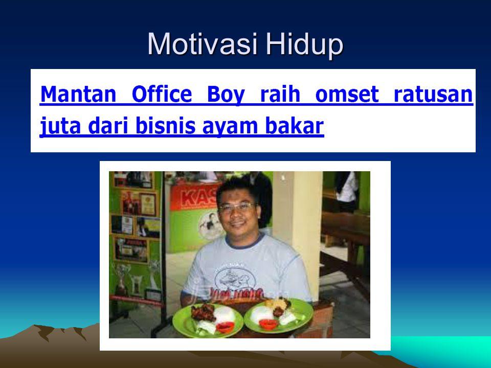 Motivasi Hidup