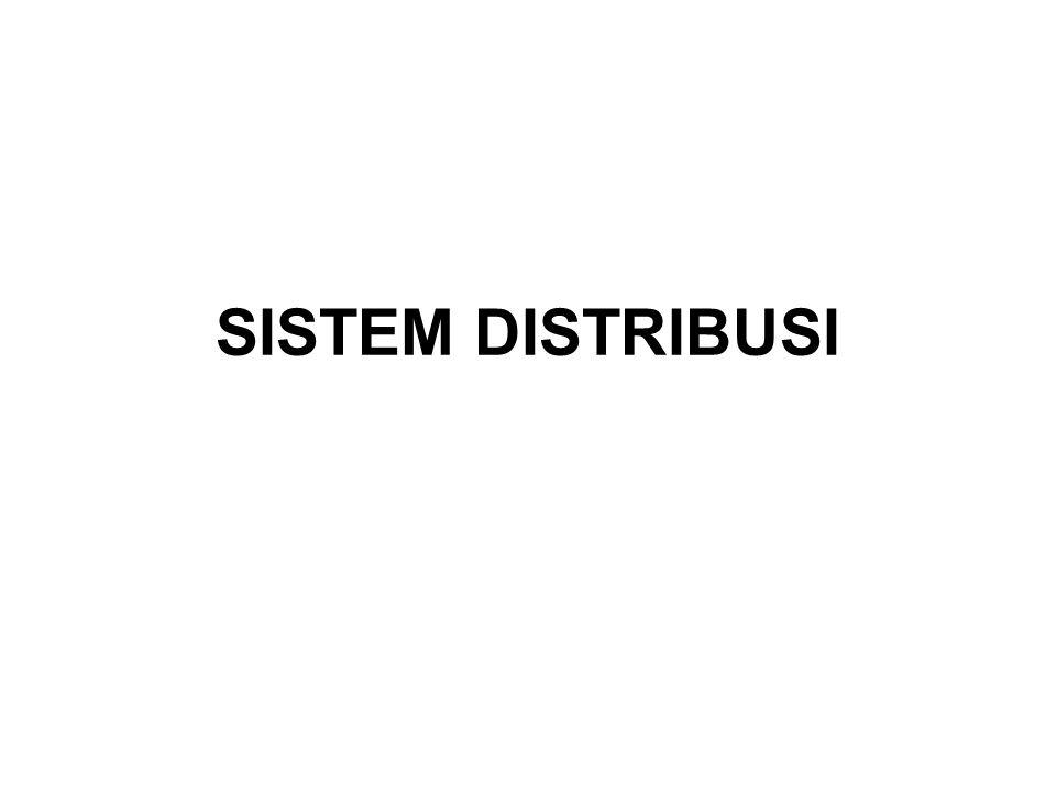 Sistem Distribusi Sistem distribusi ini berguna untuk menyalurkan tenaga listrik dari sumber daya listrik besar (Bulk Power Source) sampai ke konsumen.