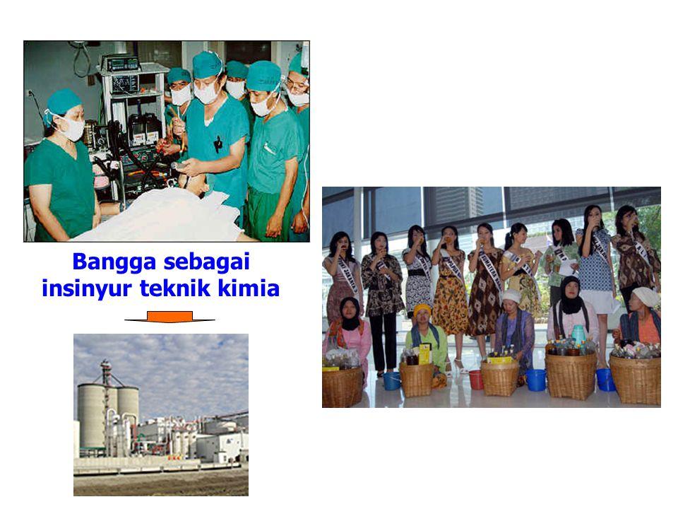 Bangga sebagai insinyur teknik kimia