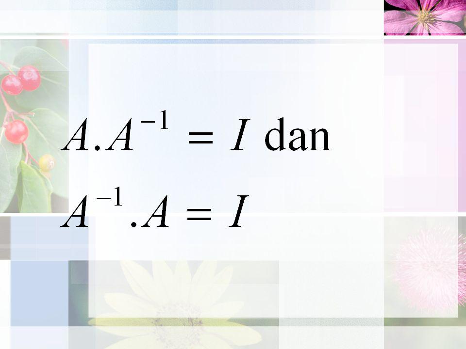 A + B = B + A (Hk.Komutatatif penjumlahan) A + (B + C) = (A + B) + C (Hk.