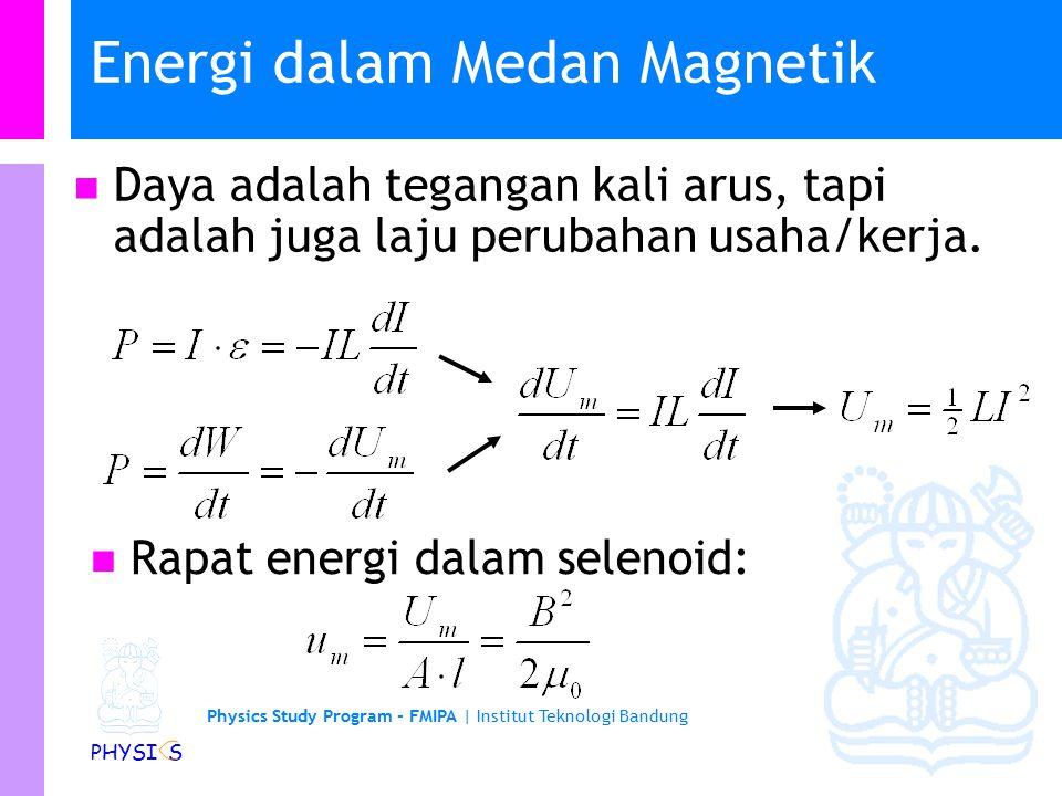 Physics Study Program - FMIPA | Institut Teknologi Bandung PHYSI S Contoh soal (A).