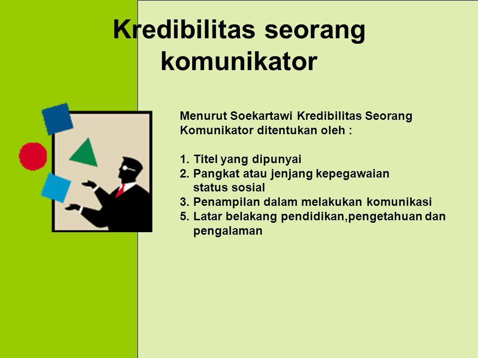Tugas Seorang Komunikator 1. Menyebarkan informasi 2. Mengajarkan ketrampilan atau kecakapan 3. Memberikan rekomendasi 4. Mengupayakan kemudahan terha