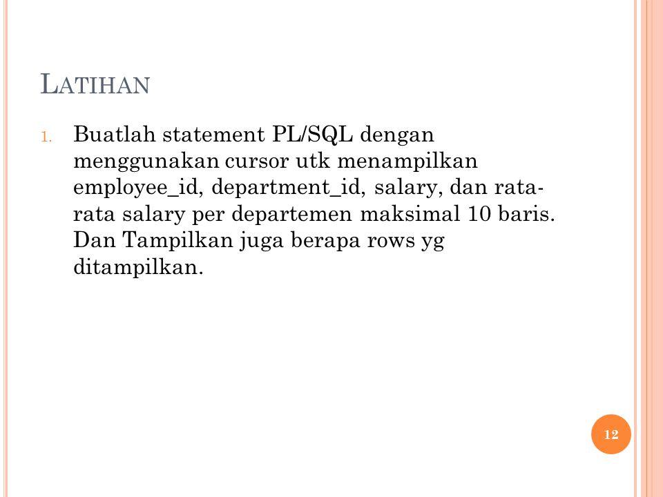 L ATIHAN 1.