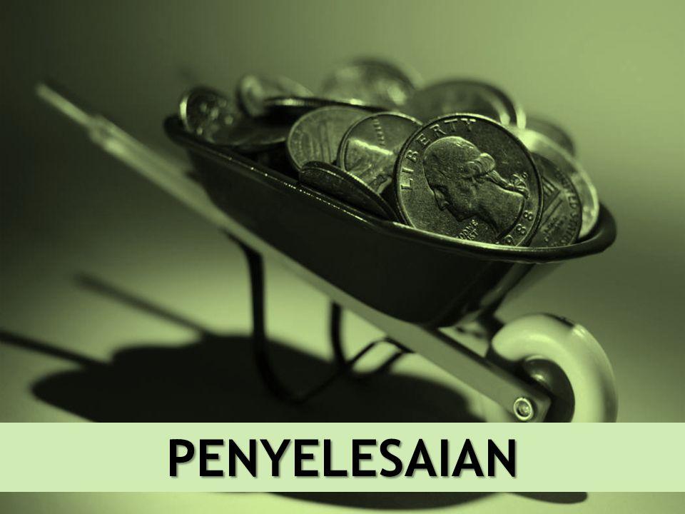 6 PENYELESAIAN