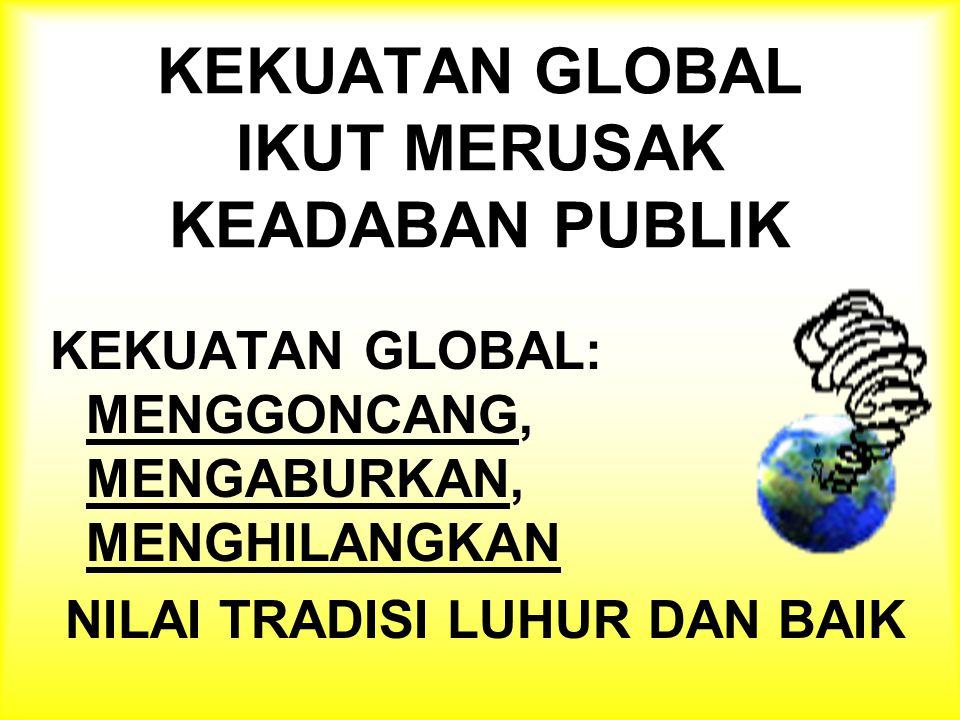 STATE MARKET CIVIL SOCIETY HABITUS BARU KARYA KESEHATAN ? GLOBALISASI