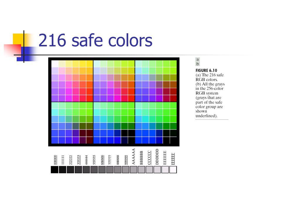 216 safe colors