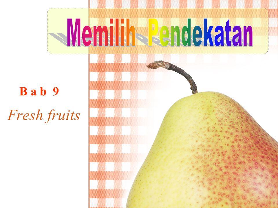 Fresh fruits B a b 9