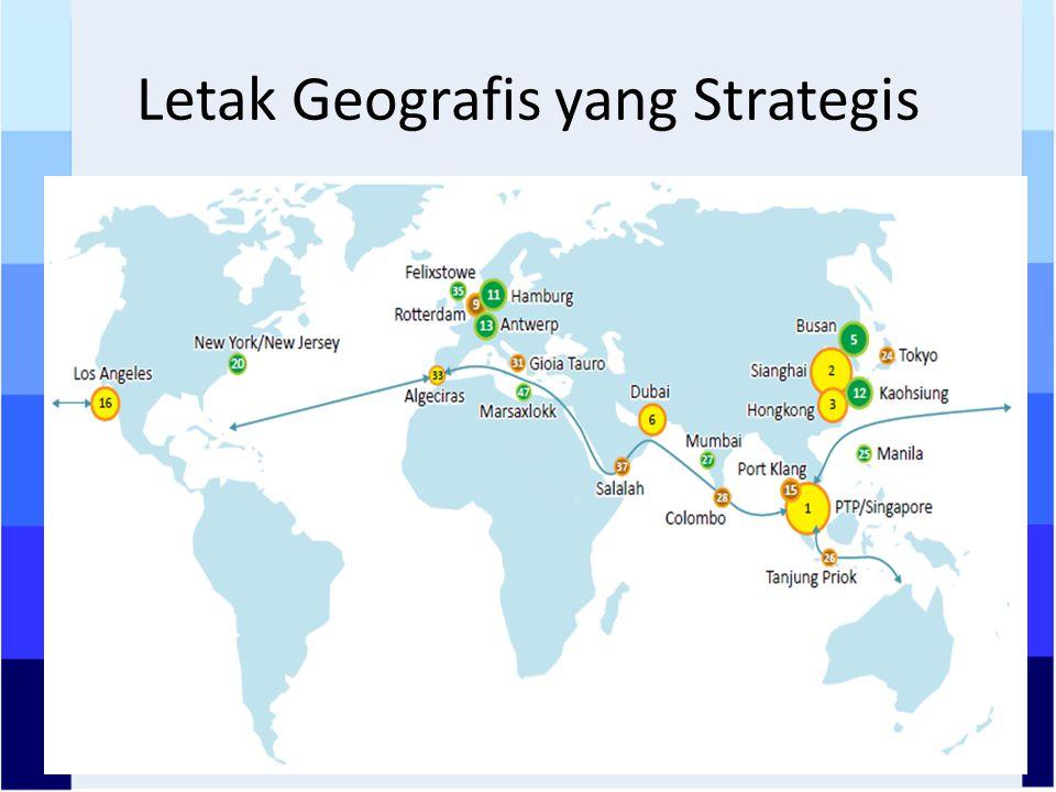 Letak Geografis yang Strategis
