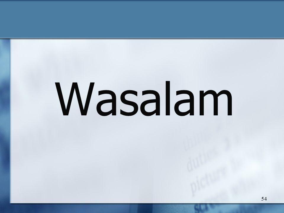 Wasalam 54