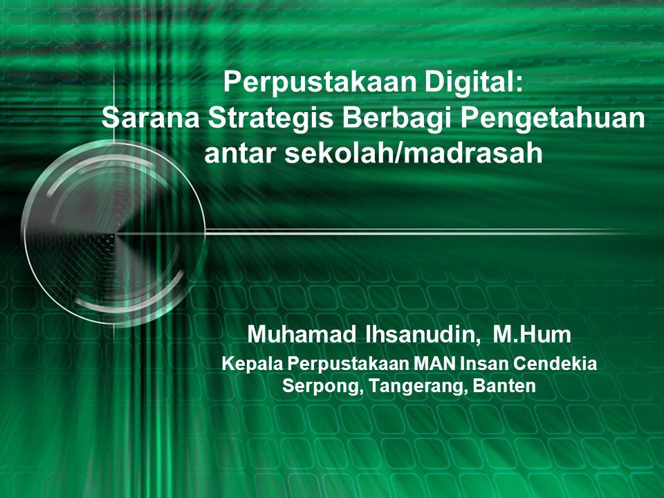 Perpustakaan MAN Insan Cendekia Bumi Serpong Damai, Sektor XI, Tangerang www.libraryinsancendekia-srp.sch.id