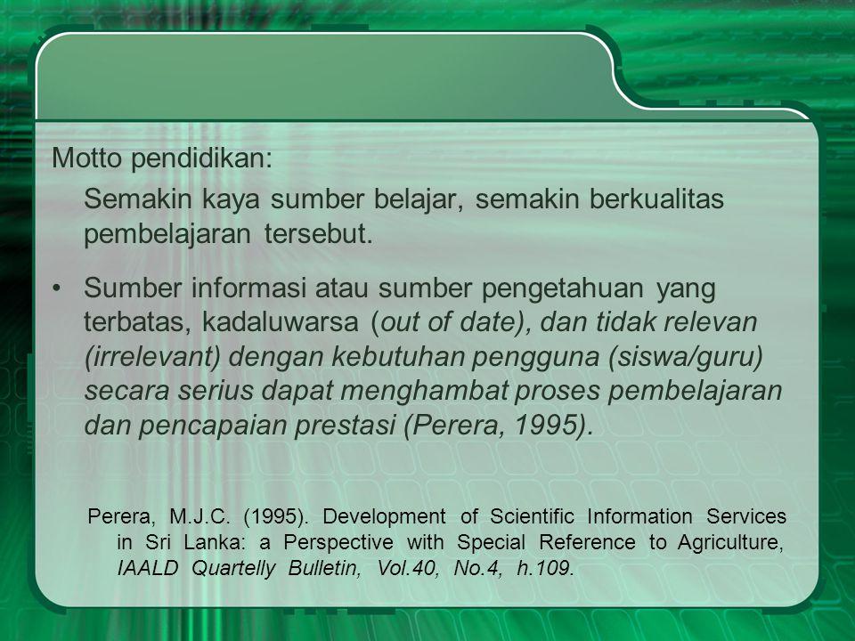 Koleksi Digital Perpustakaan MAN ICS Bank Soal Karya Ilmiah Siswa (siswa IC menyebut KIR ) Artikel surat kabar dan majalah (e-clipping) Makalah seminar/pelatihan/workshop Elektronik book (e-book) Modul Pembelajaran Buku (katalog) Arabic Resources Dan lain-lain