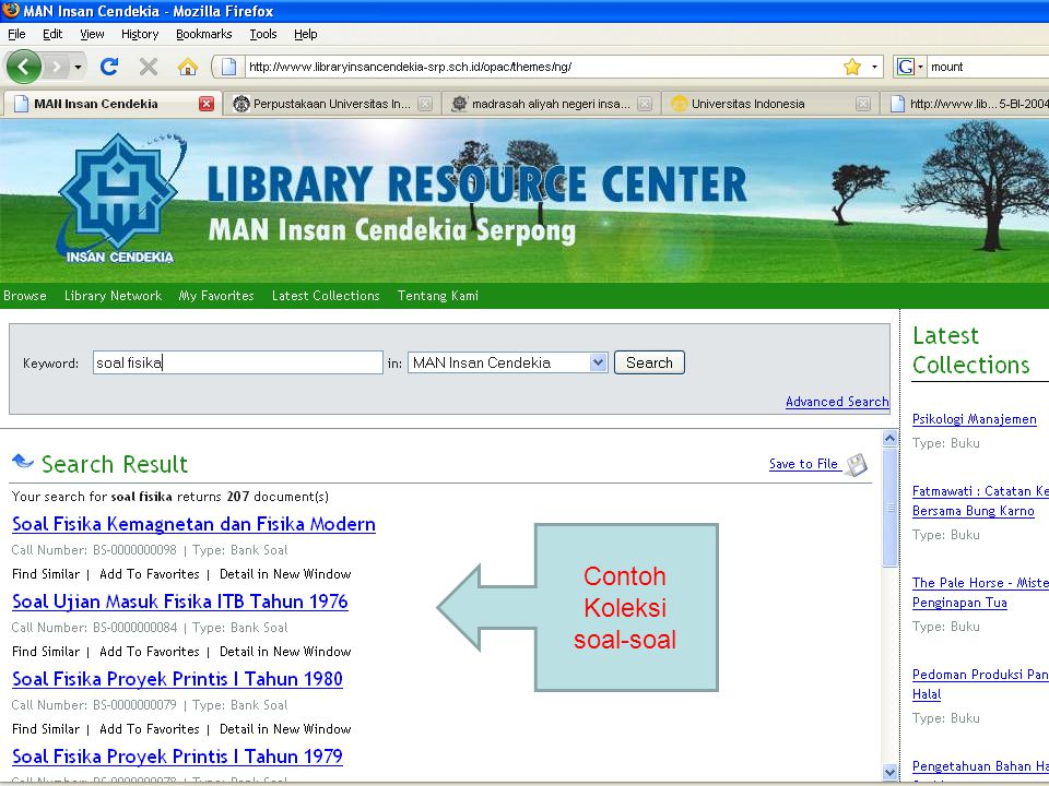 Resource Sharing… Perpustakaan saling berbagi Apa yang dibagi: 1.