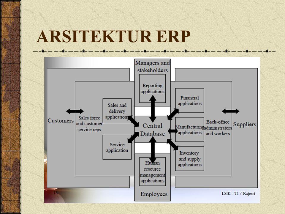 ARSITEKTUR ERP