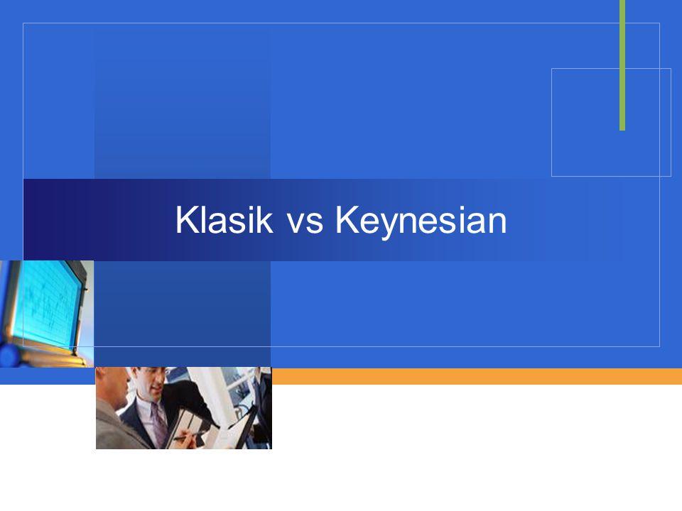 Company LOGO Klasik vs Keynesian