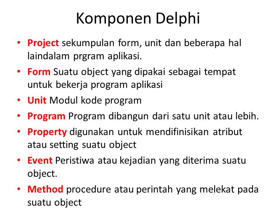 Database yang sudah dibuat dengan menggunakan access dapat diakses dengan bahasa pemrograman lainnya, misal: delphi, VB.