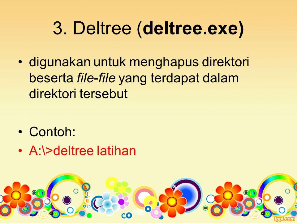 4.Diskcopy (diskcopy.com) untuk menduplikasi disket (harddisk).