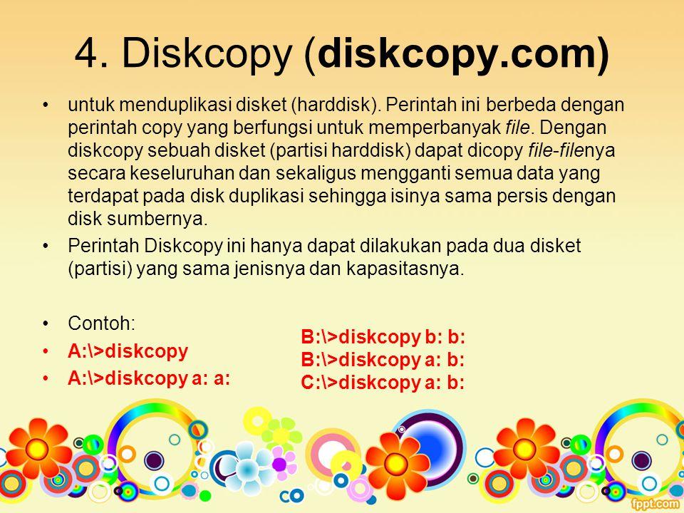 5.Doskey (doskey.com) untuk menghemat pengetikan dalam aplikasi Dos.
