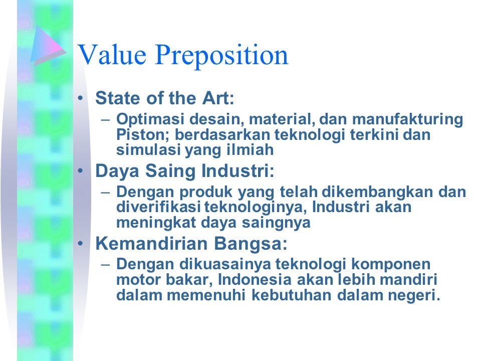 Program 2010 Partner : NEFA Sasaran : Optimasi & Uji Diesel 8 HP Target : Simulasi & Pengujian Engine