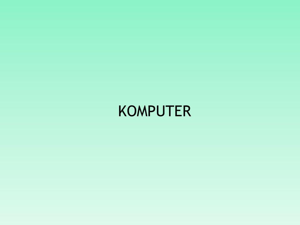 APA ITU KOMPUTER.Istilah komputer mempunyai arti yang luas dan berbeda bagi setiap orang.