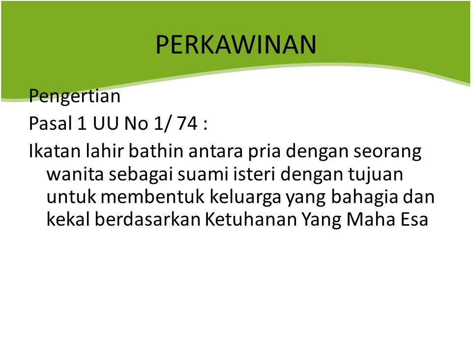 PK Harus dibuat dengan akta notaris Tujuannya : 1.Keabsahan perkawinan 2.Mencegah perbuatan tergesa- gesa 3.Demi kepastian hukum 4.Alat bukti yang sah 5.Mencegah adanya penyeundupan hukum
